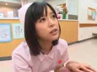 【エロ動画】美少女ナース葵つかさが激しすぎる腰振りで患者のチンポを支配!患者はあっけなく昇天!