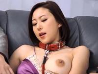 【エロ動画】お嬢様はおじさんのチンポ奴隷。首輪をつけられて巨乳を玩具にされながら、口もおマンコにも好き放題チンコを突っ込まれてしまう