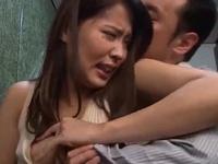 【エロ動画】「いやぁ!やめてぇ!」旦那の上司に犯され、快楽に溺れる美人妻通野未帆