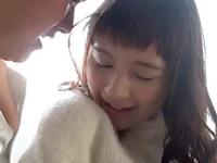 【エロ動画】前髪パッツン美少女心花ゆらとドキドキH