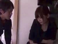 【エロ動画】喪服の美人妻に襲い掛かる義弟!やめて!と泣き叫ぶが強引に犯される