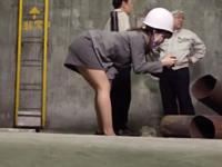 【エロ動画】公衆便所や病院のベッド、いろんなシチュで犯されまくる巨乳OL。淫乱マンコが目の前にあったら男はチンコを突っ込んでしまう