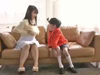 【エロ動画】おねショタ案件!爆乳のお姉さんがこども監督の玩具にされて喘ぎまくり!