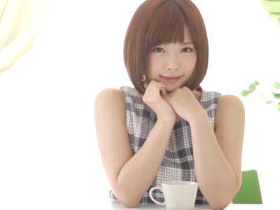 【エロ動画】おチンポ大好き女紗倉まなの濃厚なフェラ。両手に握ったおちんちんを扱いて濡れたおマンコを犯されながら巨乳を揺らす