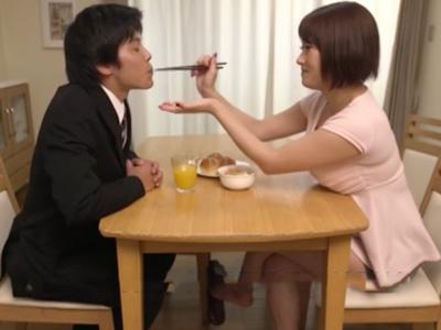 【エロ動画】むちむち食い込みパンツでお尻を丸出しにしている人妻が悪い!義父を誘惑するエッチな熟女マンコは不倫セックスを求められ、拘束レイプでNTRされてしまった