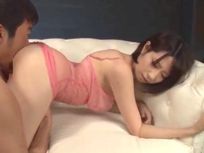 【エロ動画】透け透けエロ下着から見えるアナルやおマンコを犯してデカ尻美女とセックス。おチンポをフェラチオでしゃぶらせたら、一度ザーメンをぶっかけてドロドロにしてやり。揺れる巨乳を堪能しながらザーメンをぶっかける