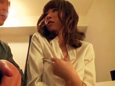【エロ動画】「は?なにそれ?」ナンパしてホテルにお持ち帰りした巨乳ちゃんにハメ撮りを提案したら…アッサリOKしてくれたので、感じてる顔をしっかり撮影しながら大量ブッカケさせてもらった!