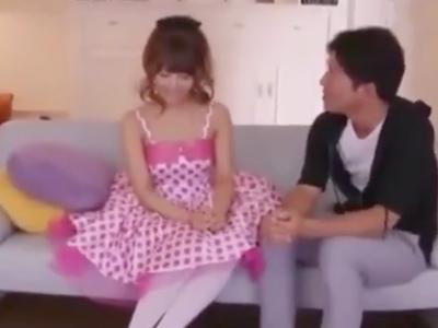 【エロ動画】ロリアイドルのコスプレをした三上悠亜のファンサービス!?ファンの男からの愛撫で気持ちよさそうに反応し、膣奥をピストンされてザーメンをぶっかけられる