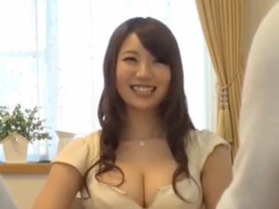【エロ動画】お兄ちゃんの彼女は超巨乳!ショタ弟は彼女の体にぐいぐい魅かれ、おっぱいを揉み、フェラチオもパイズリもしてもらっちゃう!しかし、ショタ弟の行為はエスカレート!