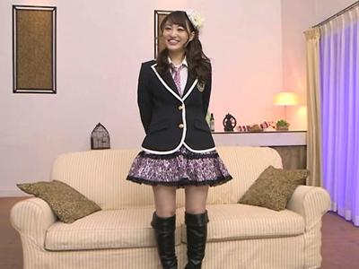 【エロ動画】元NMB美少女アイドルの松田美子がハメ撮りデビュー!照れくさそうにディープキス・乳揉みされて、フェラチオした肉棒で騎乗位杭打ちする現役時代に見られなかった痴女っぷり