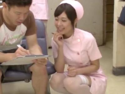 【エロ動画】ナースが患者さんの精液、搾り取っちゃいます!フェラでもパイズリでも、ご奉仕ならばなんでも来い!騎乗位のセックスも笑顔でいくらでもしてくれるなんてエロ過ぎる!