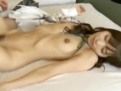 【エロ動画】可愛いスレンダー美少女とのハメ撮りセックス!クンニ・手マンでヌルヌルのマンコを肉棒で突かれまくって、正常位・騎乗位で笑顔で絶頂連発!