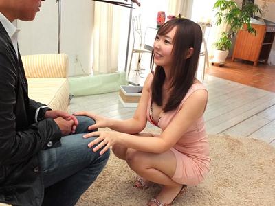 【エロ動画】No.1のソープ嬢(堺希美)を説得してAV出演させることに大成功!極上のテクニックでご奉仕してもらうが、やっぱりおマンコが最高だった!