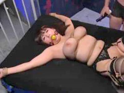 【エロ動画】巨乳を強調するように緊縛されて徹底的に犯されるむっちり美女は、おっぱいをぶるぶる揺らしながら凌辱されて喘ぎっぱなし!