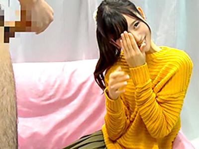 【エロ動画】可愛いスレンダー美少女をナンパしマジックミラー号にご招待…童貞チンポをフェラチオ・手コキでご奉仕してもらい騎乗位・正常位でピストンするハメ撮りセックス