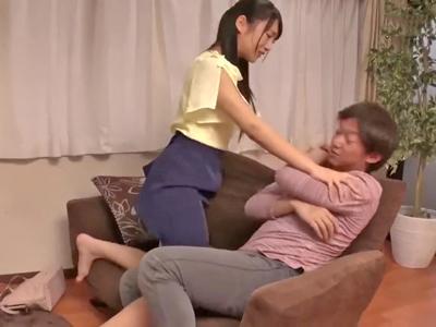 【エロ動画】兄が大好きすぎる星奈あい。兄の自宅を訪れると婚約者がいて嫉妬した彼女は兄を巨尻で誘惑しそのまま騎乗位ハメでNTR近親相姦をし何度も中出しさせる!