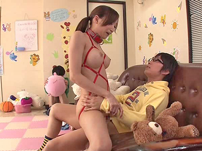 【エロ動画】ショタが大好きで自ら緊縛肉便器になる小児科の巨乳美女・蓮実クレア…顔面騎乗位のクンニでマンコを刺激され最後は狂ったように腰をふりザーメン中出し