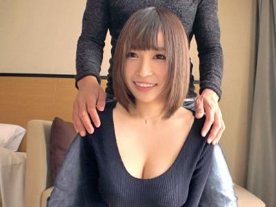 【エロ動画】巨乳で美乳なキュートな素人娘とホテルでハメ撮り!ローターでオナニーさせたらクンニ&手マンで愛撫しフェラから乳揺れまくりのSEX突入!
