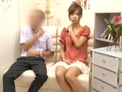 【エロ動画】整体にやって来た巨乳の美人妻が施術師と密室でオイルマッサージ!段々エロい手つきに変わり秘部にまで侵入…。そのままレイプされちゃったw