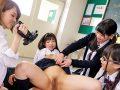 【エロ動画】学校中の男を喰いまくる美少女JKなのにドスケベ痴女のあべみかこ&姫川ゆうな…逆ハーレムの騎乗位で何度も中出し種付けさせ羨ましいの一言です…