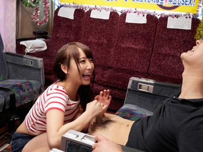 【エロ動画】巨乳&巨尻の綺麗なお姉さん・倉多まおが素人男性相手に自身の持つ凄テクを披露!しかもそのテクを耐え抜かれてしまったら生ハメ中出しSEXしなきゃいけないヤバイ企画w