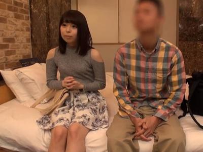 【エロ動画】巨乳娘が友達とホテルで二人きりになったらどうなるのかモニタリングする企画!結局男と女なのでクンニ&フェラチオを開始して中出しフィニッシュする結果に…