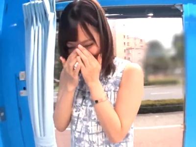 【エロ動画】AVヲタクの清楚系お嬢様女子大生のあけみみうが憧れのMM号に乗車してセクシー女優デビューを果たす!フェラからの激パコや拘束&目隠しで電マ責めまでされちゃうw