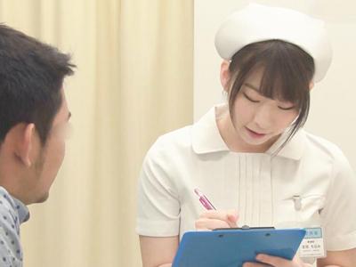 【エロ動画】性欲処理つき優良病院のナースさんは患者チンポを手コキやフェラでご奉仕し、おマンコでのザーメン搾りセックスも!