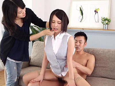 【エロ動画】撮影に来た巨乳美少女・松岡ちなのマンコにチンコを即挿入!そのまま一日中フェラチオさせまくり騎乗位・正常位で突きまくる乱交セックス企画…!