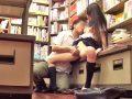 【エロ動画】閉店寸前まで立ち読みしていた巨乳美少女のJKを店員とグルになって輪姦レイプ!恐怖で抵抗できないマンコを使って騎乗位・正常位で鬼畜なピストン!