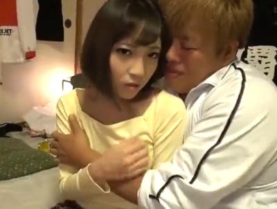 【エロ動画】可愛い彼女(広瀬うみ)がDQN男のチンポを美味しそうにしゃぶったり、じっくりピストンで中出しされるNTRセックス!