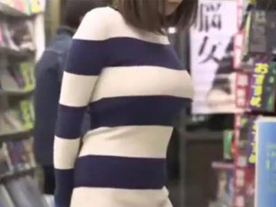 【エロ動画】巨乳と乳首の主張がスゴいお姉さんがレイプされて…強引なパイズリやピストンで興奮しちゃって、ザーメンをパイ射される!