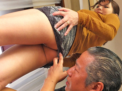 【エロ動画】「中はダメ…外に出してください!」と懇願するも、義父に寝取られ中出しされてしまうムッチリ巨乳な人妻さん