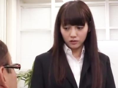 【エロ動画】ミスした美少女OLを社員一同で輪姦レイプする鬼畜なブラック企業!当然のように肉棒をフェラチオさせ正常位・後背位で己の欲望を満たすために突きまくる!