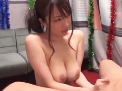 【エロ動画】デカパイ美女・ましろ杏のテクニックがガチで凄い!ねっとりフェラで我慢しても、グラインド騎乗位は中出し不可避!