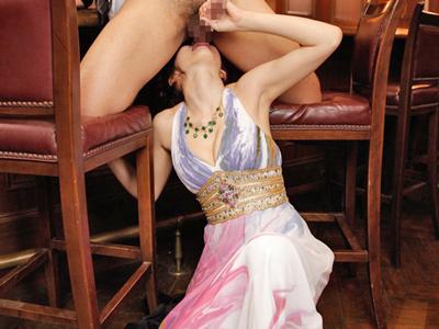 【エロ動画】極上のフェラテクで心も身体も癒やしてくれる…秘密クラブの巨乳嬢・麻美ゆま