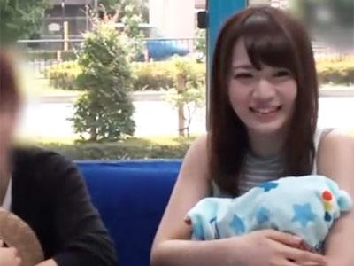 【エロ動画】幸せそうな巨乳奥様をMM号でNTR!正常位でピストンしたら激しく乳揺れしたので、そこにザーメンぶっかけ!
