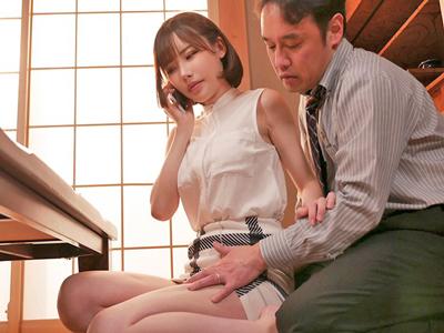 【エロ動画】NTRされた美人妻(深田えいみ)は夫の上司のチンポを受け入れて…いつの間にか快感堕ちし自らご奉仕を!