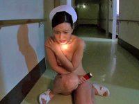 【エロ動画】夜の病院で巨乳ナース(古川いおり)を陵辱!拘束+挿入で中出ししたり、連続ファックで綺麗な顔をザーメンまみれに…