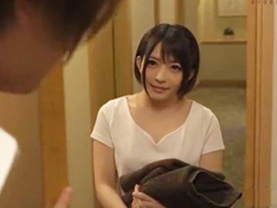 【エロ動画】乳首がツンと尖った美乳マッサージ師が派遣されたビジホで快感まみれで悶える流されファック!